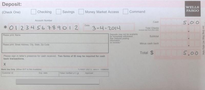 bank of america deposit slip pdf