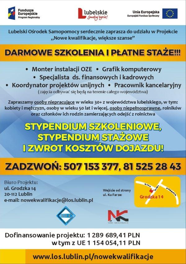Plakat - NOWE KWALIFIKACJE