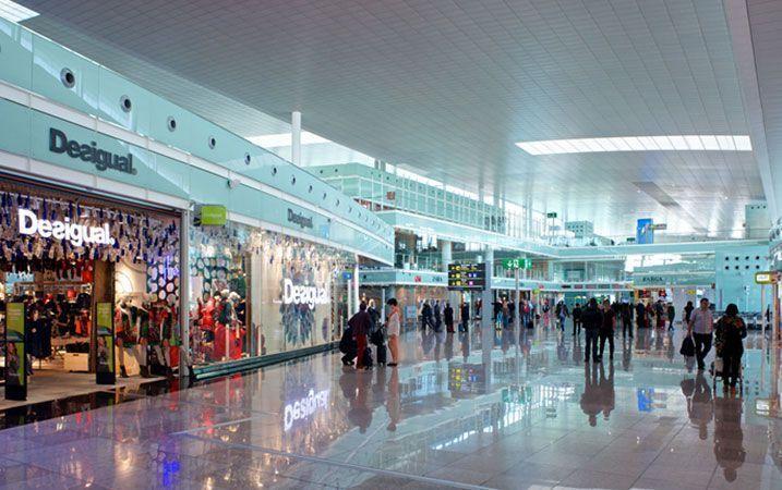Tecnología ICG en la nueva T1 del Aeropuerto de Barcelona