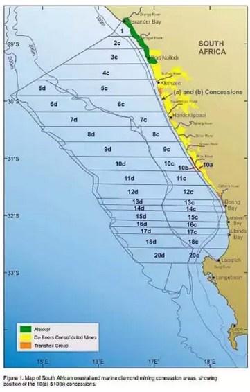 Карта на концесията