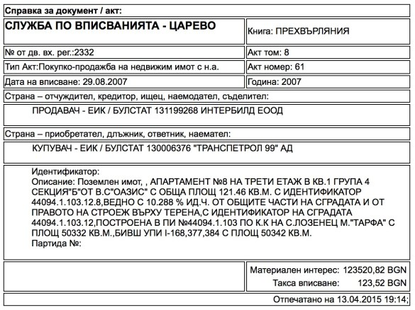 """Terminators of Dunes at Camping Site """"South"""" Proved to Be Partners of Bulgarian Drug Lord"""