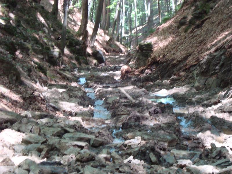 Разораното дере приток на река Дълбоки дол
