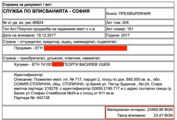 Апартаментгейт:  И шефът на спецсъда Георги Ушев с имоти на смешни цени в Банкя