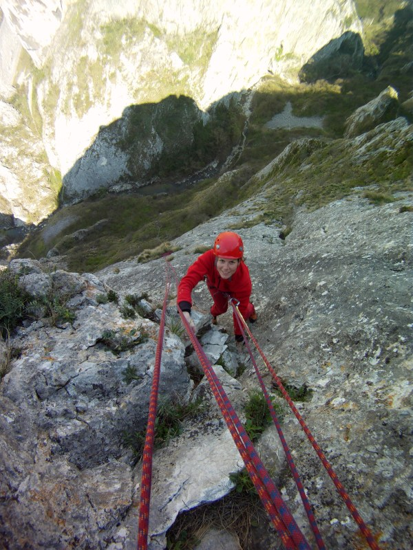 alpinism vara în Cheile Turzii