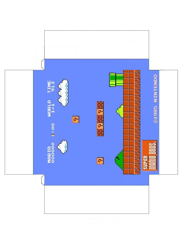 Printable Mario Papercraft Printable Papercrafts