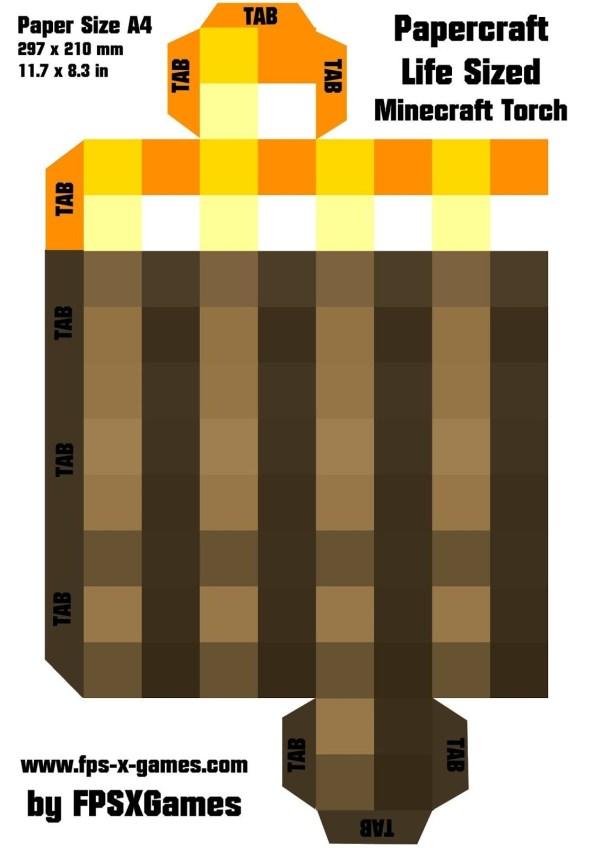 minecraft printable blocks # 41