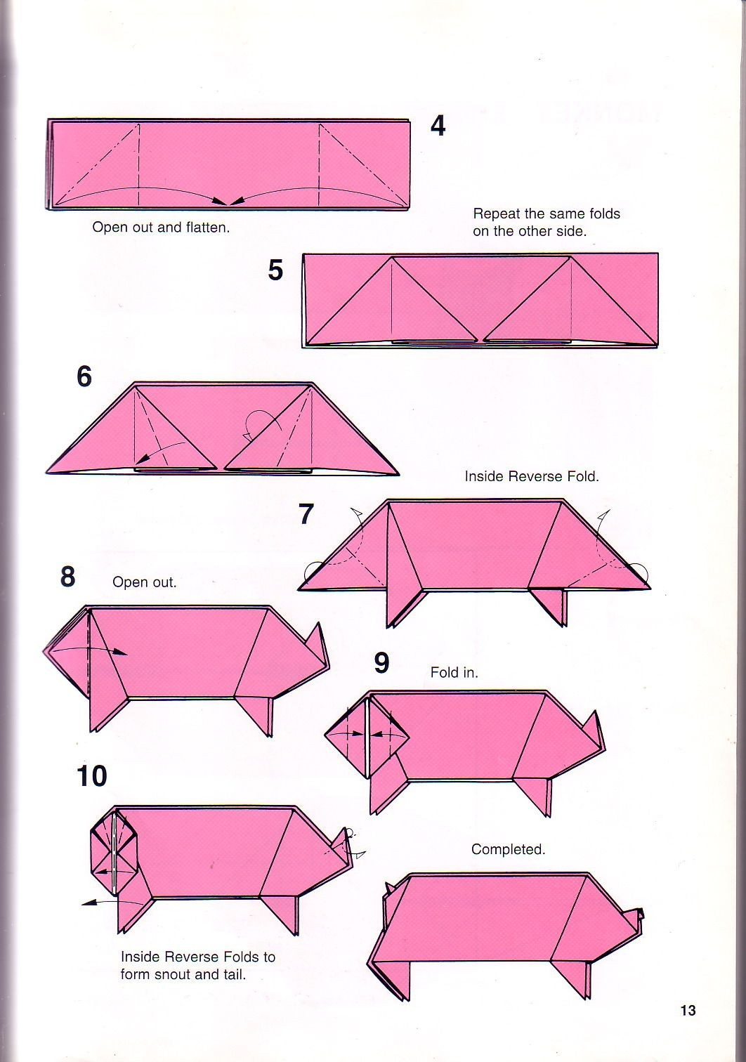 Origami Instructions For Kids Jadwal Bus