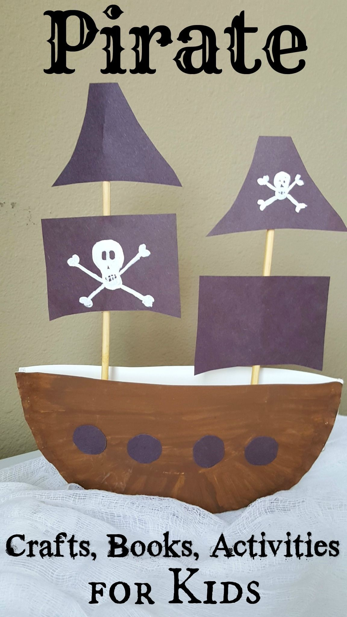 Printable Pirate Ship Papercraft