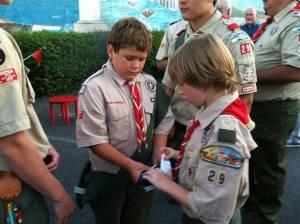 Flag folding 2012
