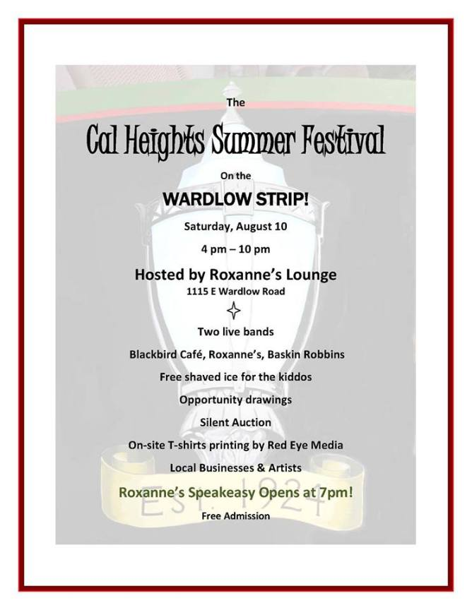 Cal Heights Summer Festival