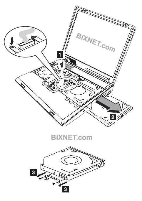 IBM TinkPad 8X Double Layter DVD Writer DVD Burner Drive