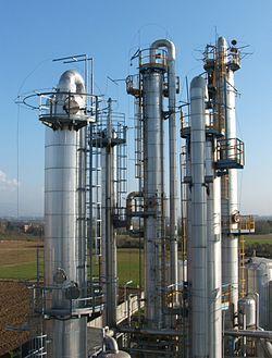 endüstriyel distilasyon kule