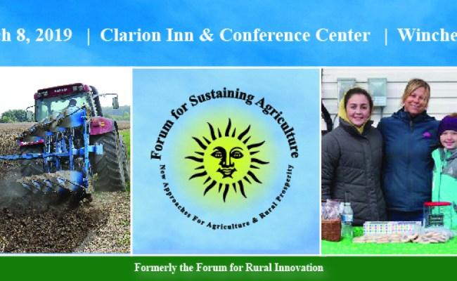 Forum For Sustaining Agriculture Loudoun County Economic