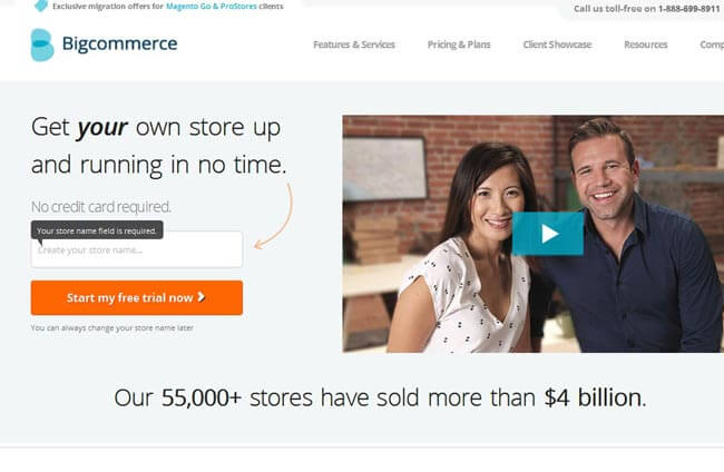 BigCommerce as a Shopify alternative
