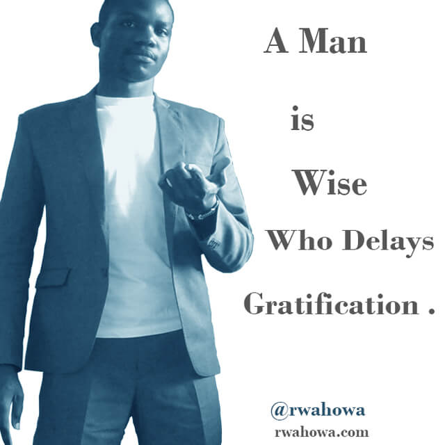 A man is wise - rwahowa quotes