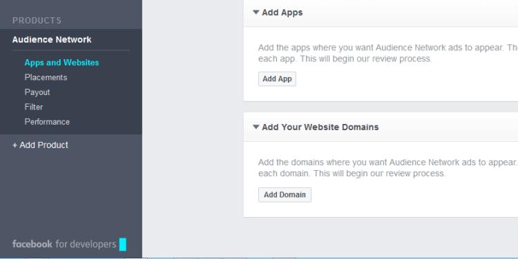 Add website in Facebook Audience
