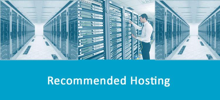 Recommended Web hosting companies