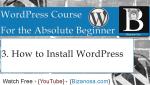 3. Installing WordPress (XAMPP)