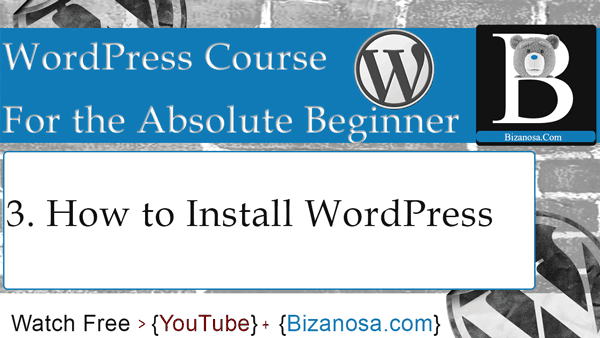 How to install wordpress on a computer