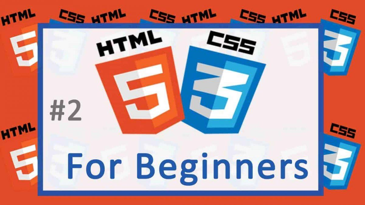 2 HTML and CSS Tutorial – Choosing a Text Editor