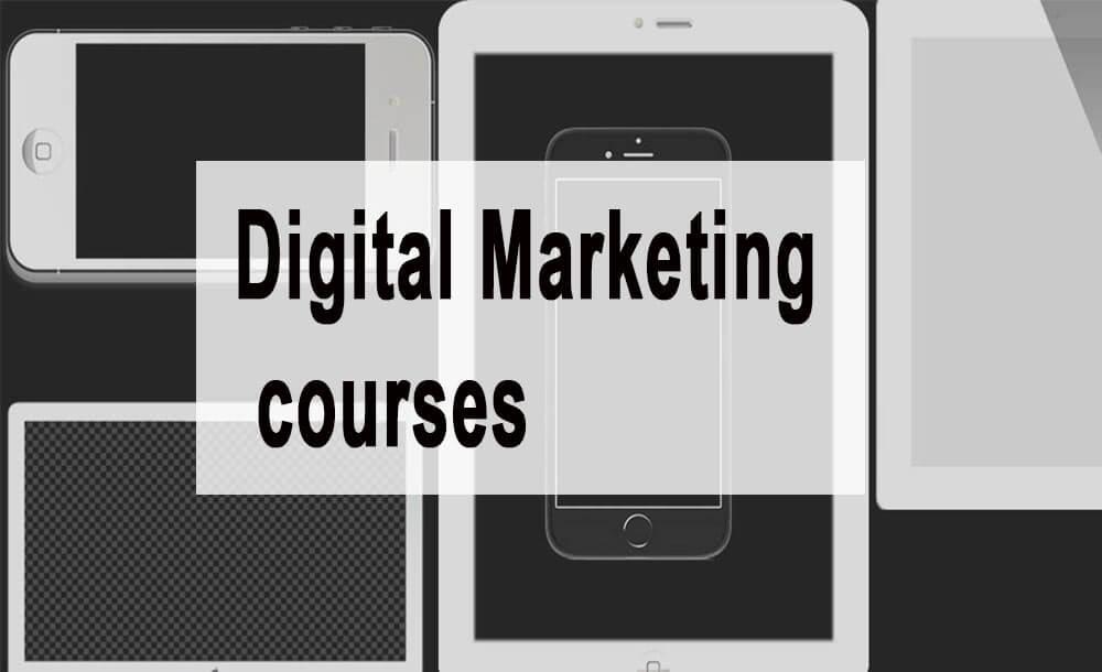 Top 7 Digital Marketing courses