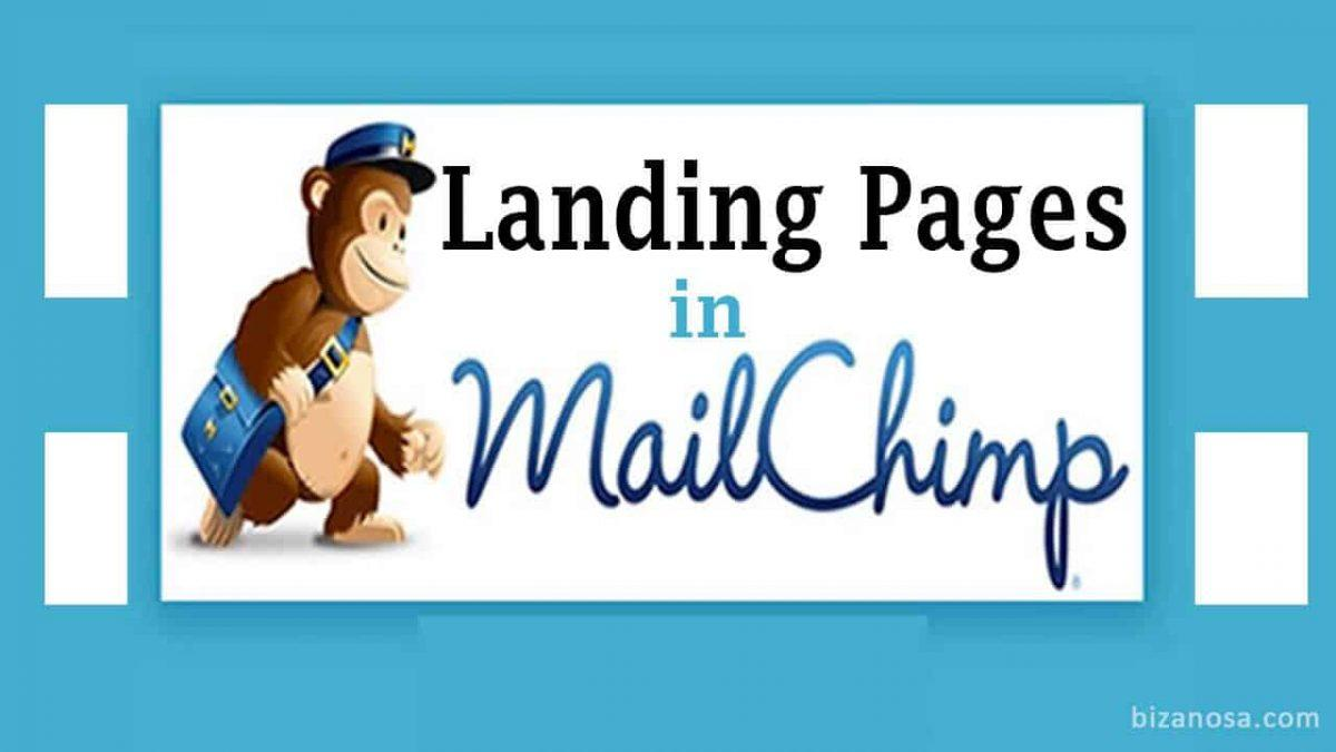 How to create Landing Pages in Mailchimp