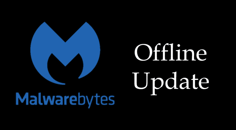 How to - Offline Malwarebytes Update – Standalone update