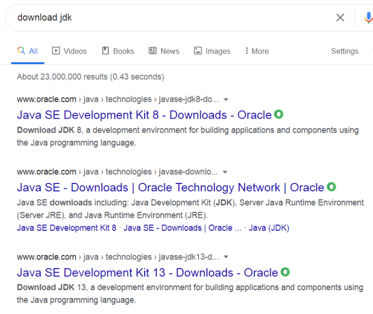 How to install jdk on windows - Download JDL.