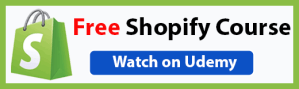 Free Shopify Course on Udemy by Bizanosa - Ricky Wahowa