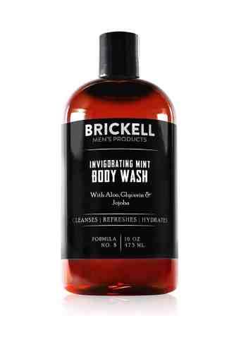 Brickell Men's Invigorating Mint Body Wash for Men Review