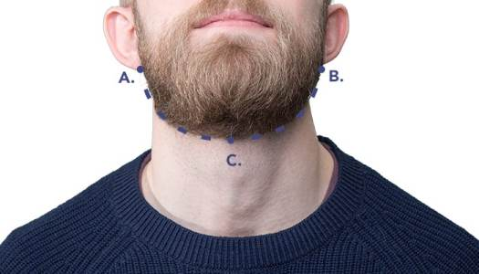 Shaving The Neckline