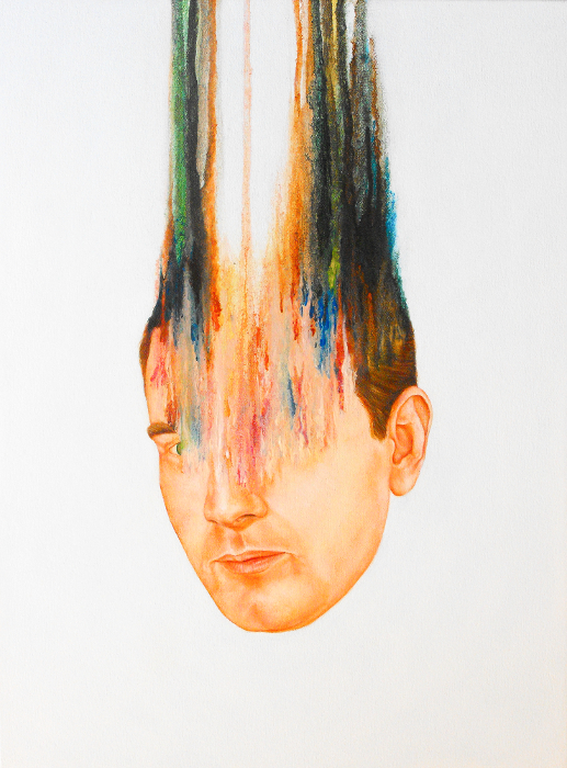 Brian Donnelly  Dripping Oil Portraits  Bizarre Beyond