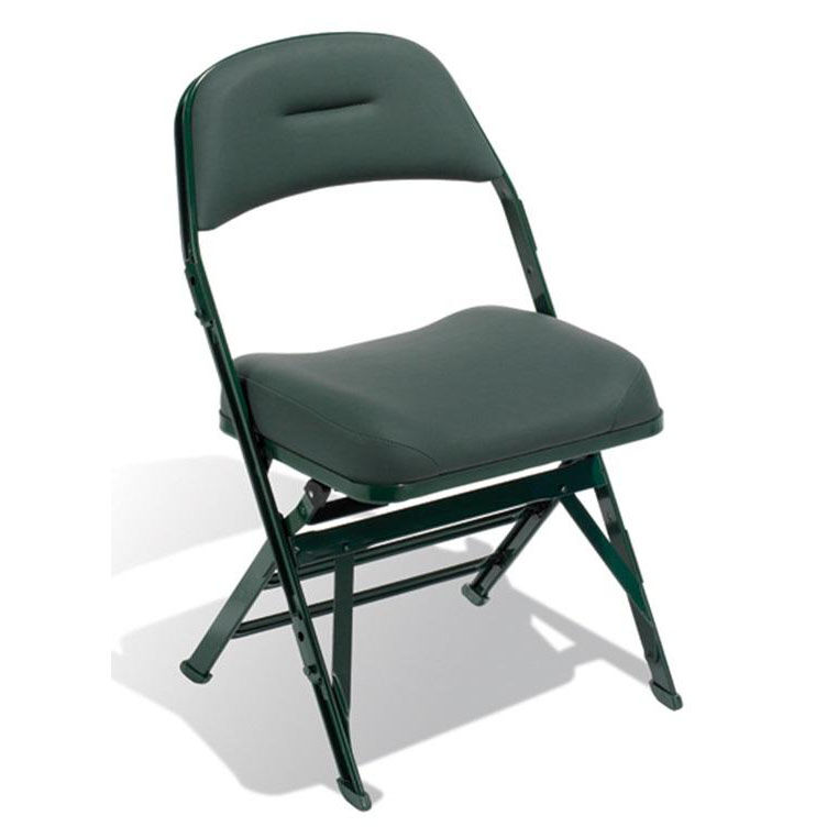 Basketball Chairs Contour Series Upholstered Seat And Back 19 5 W Folding Chair With Manual Uplift Seat