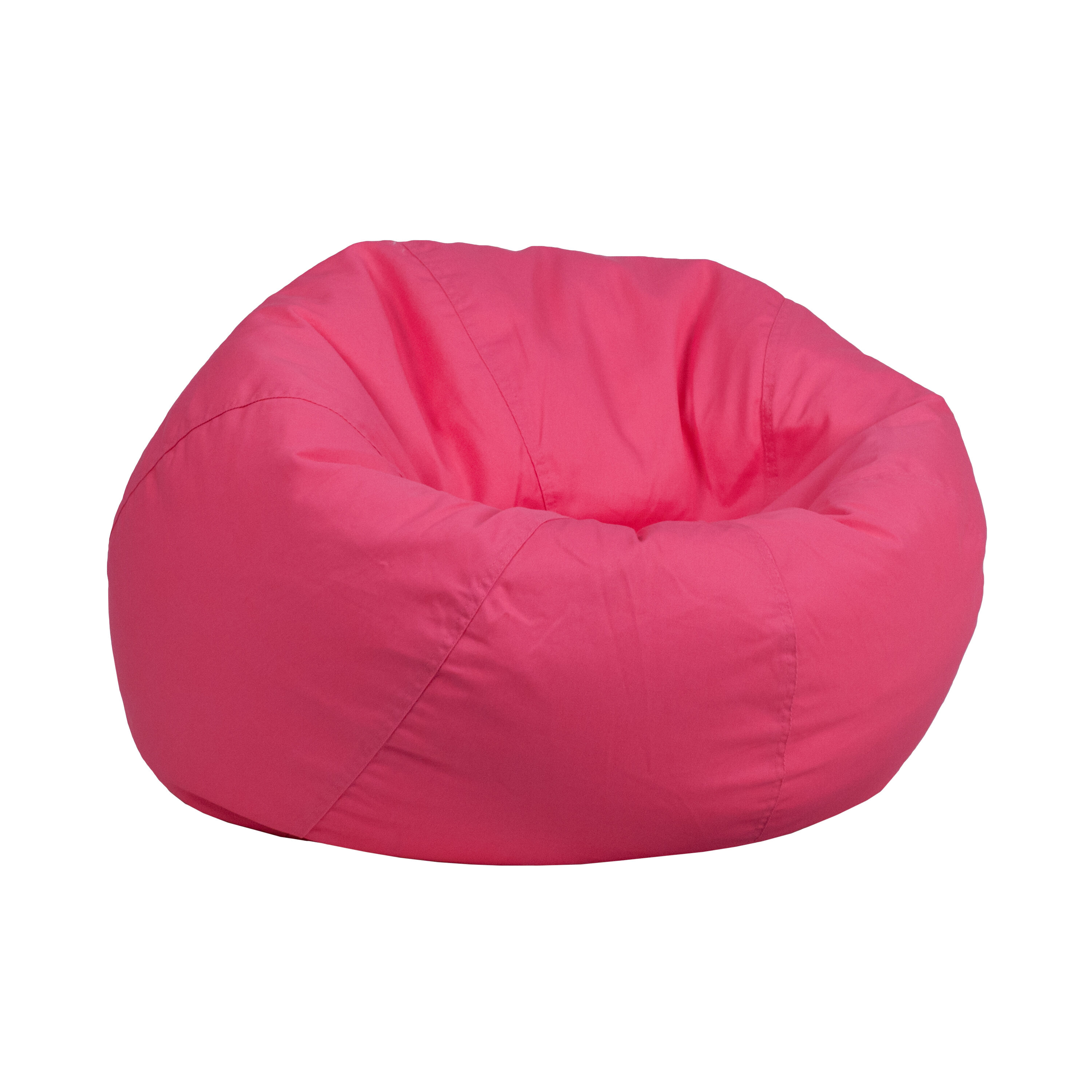 Hot Pink Office Chair Our Small Solid Hot Pink Kids Bean Bag Chair Is On Sale Now