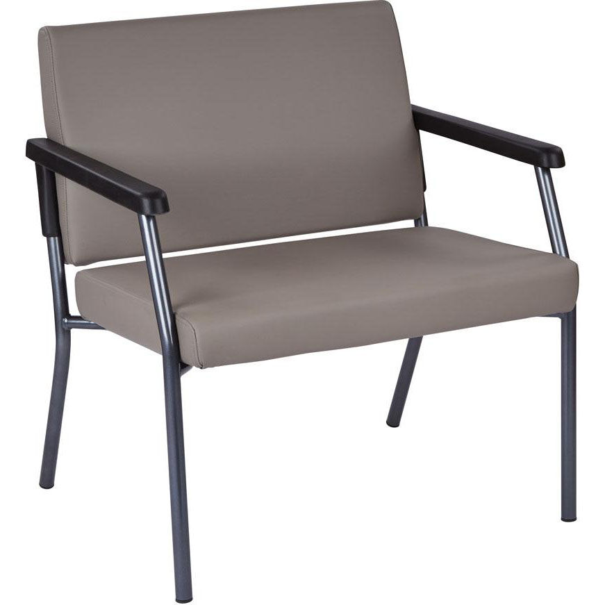Bariatric Chair Work Smart Bariatric Big Tall Guest Chair With 500 Lb Weight Capacity Dillion Stratus Antimicrobial Vinyl