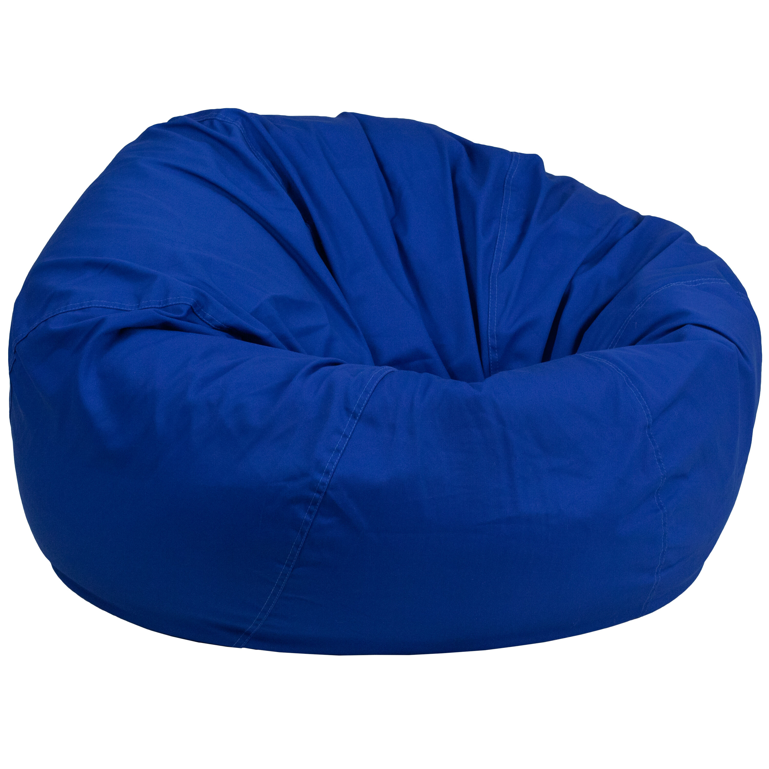 Where Can I Buy A Bean Bag Chair Oversized Solid Royal Blue Bean Bag Chair