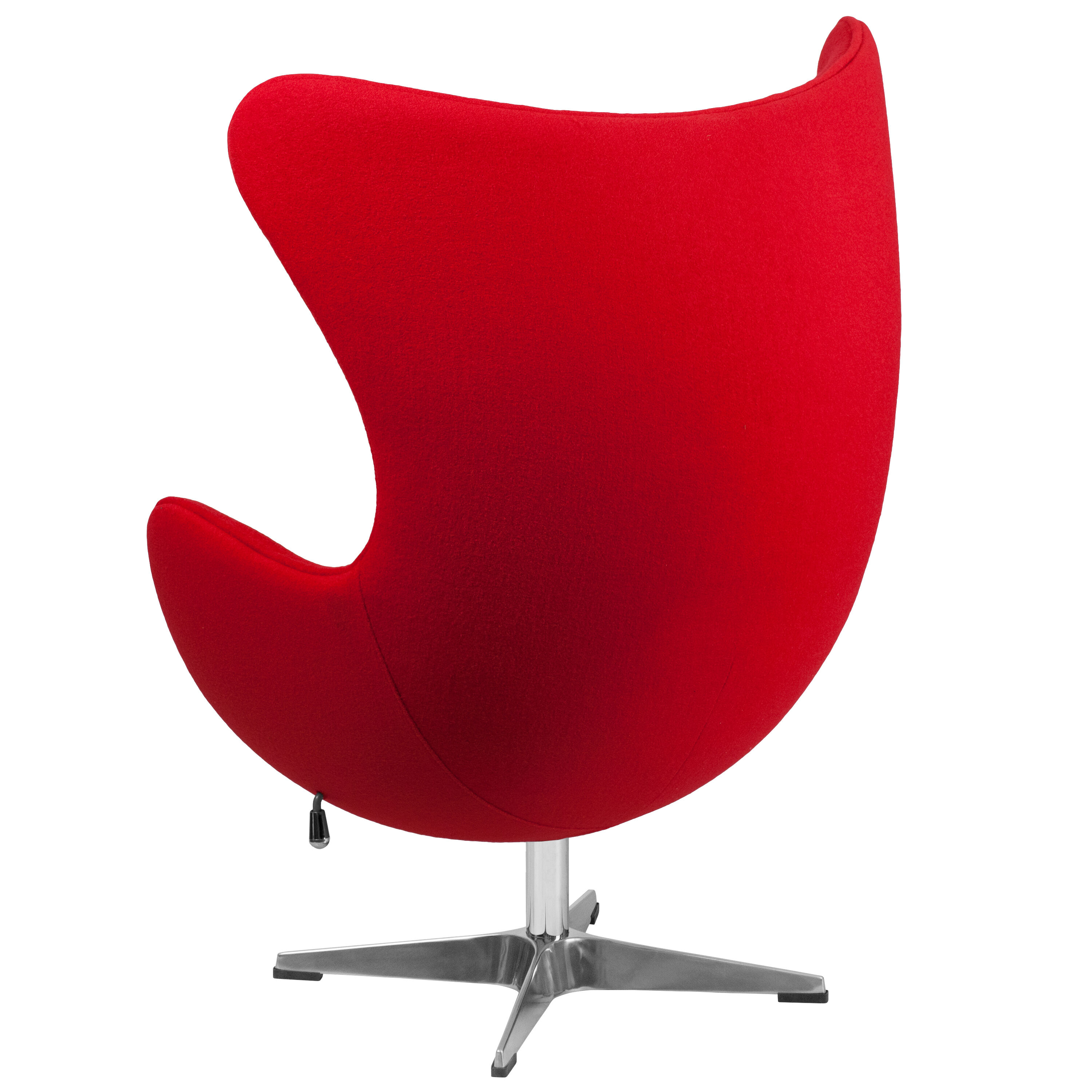 Egg Chairs For Sale Cheap Red Wool Fabric Egg Chair Zb 14 Gg Bizchair