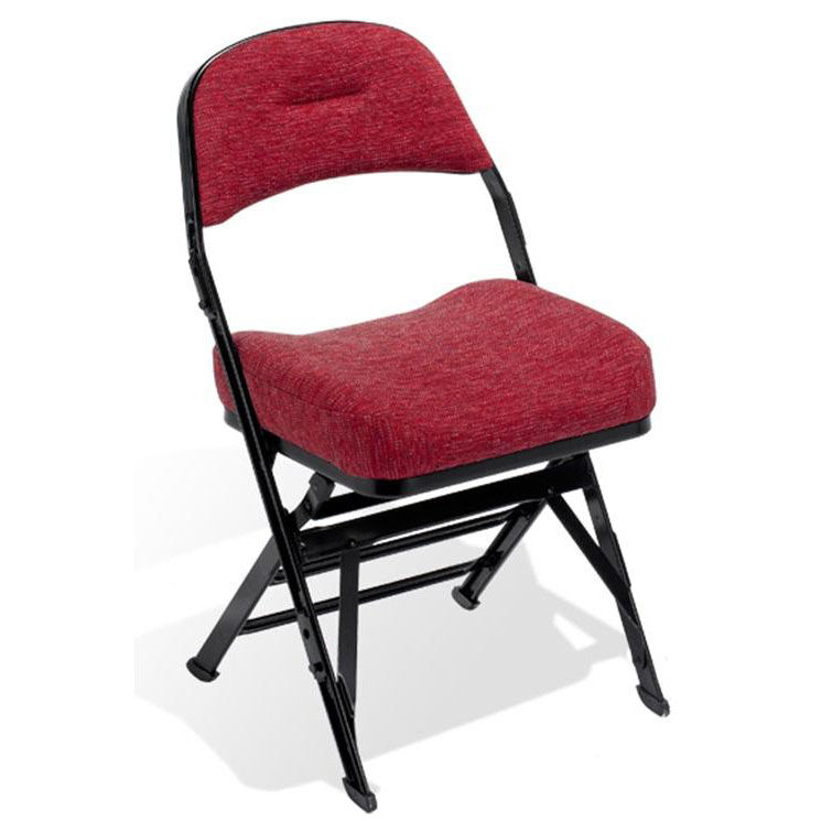 Upholstered Folding Chairs Contour Series Folding Chair 4400c Bizchair