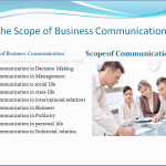 The Scope of Business Communication