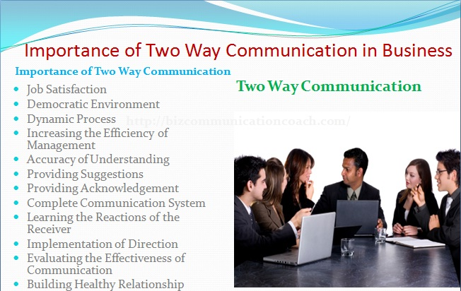 Importance of Two Way Communication in Business