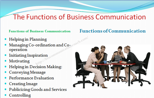 The Functions of Business Communication