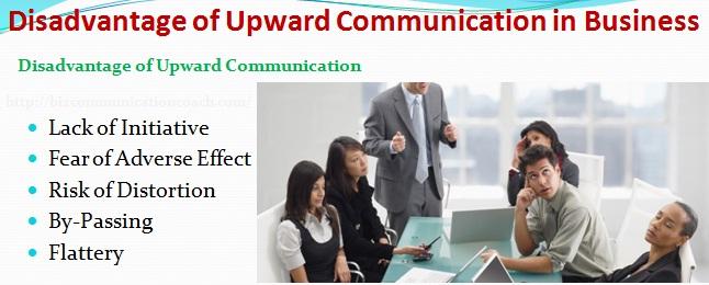 Disadvantages of Upward Communication
