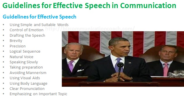 Guidelines for Effective Speech