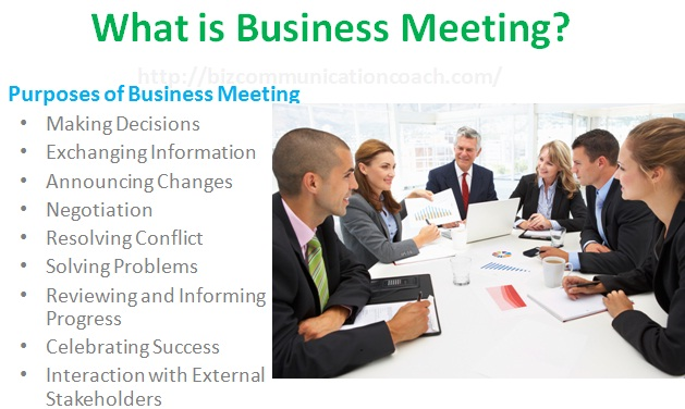 What is Business Meeting