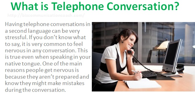 What is Telephone Conversation