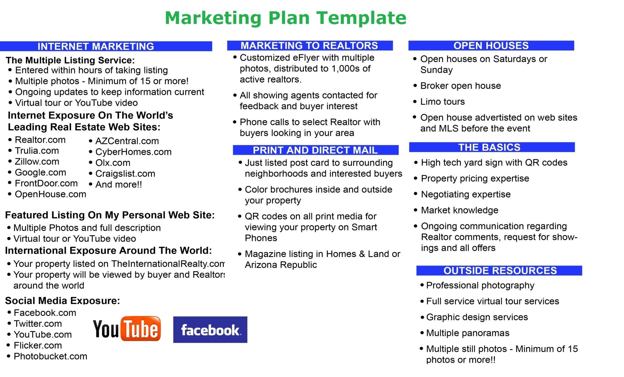 hight resolution of marketing plan