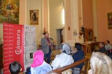 No prediqué en la Iglesia de Fuendetodos, sino que estuve hablando de la importancia del recreacionismo histórico turístico como motor de desarrollo