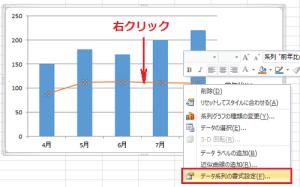 エクセル_グラフ_2軸_5