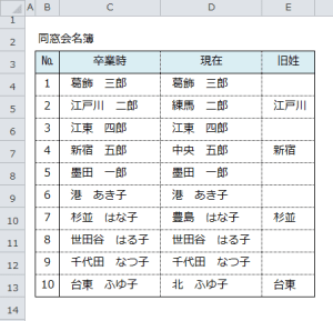 Excel_文字列_比較_5