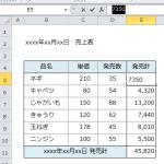 【Excel講座】F9キーで数式を計算結果の値に置き換える方法